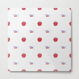Aomori apple Metal Print