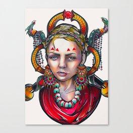 Tears of a Gypsy Canvas Print
