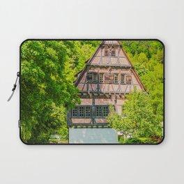 Klosterhof Blaubeueren ( Half-timbered House ) Laptop Sleeve