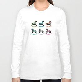 Rocking Horses Long Sleeve T-shirt