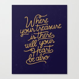 Treasure Canvas Print