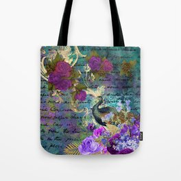 Feather peacock 22 Tote Bag