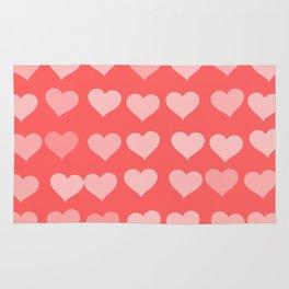 Cute Hearts Rug