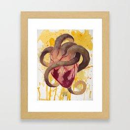 Wandering Heart Framed Art Print
