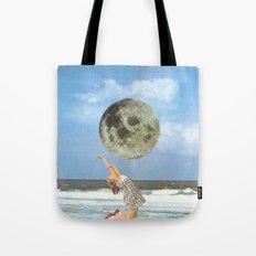 Little Luna At The Beach Tote Bag