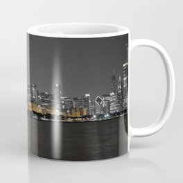 Chicago Silver and Gold Coffee Mug