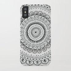 Mandala Love iPhone X Slim Case