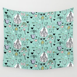Magical Trinkets Wall Tapestry