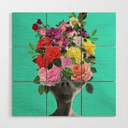Alien Bouquet  Wood Wall Art