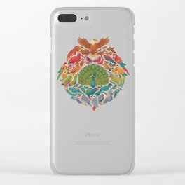 Aerial Rainbow Clear iPhone Case