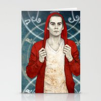 stiles Stationery Cards featuring Stiles demon by Sudjino