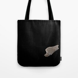 Lonely death wood in space Tote Bag