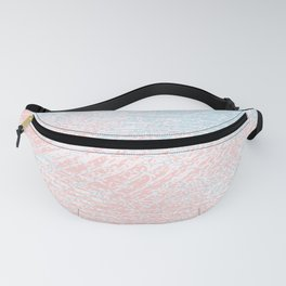 pink pastel and blue pastel Fanny Pack