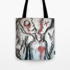 Personality Split Tote Bag