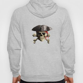 The Jolly Roger Pirate Skull Hoody