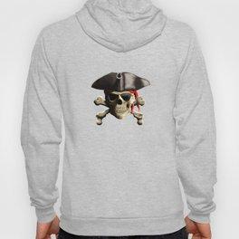 The Jolly Roger Pirate Skull Hoody