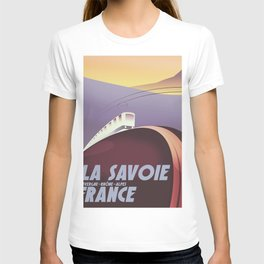 Savoy France train poster T-shirt