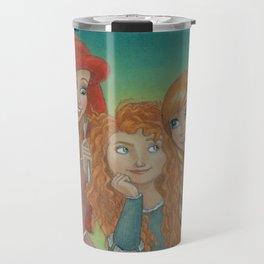 Redheaded Princesses Travel Mug