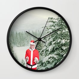 Merry Christmas, Colonel Sanders Wall Clock