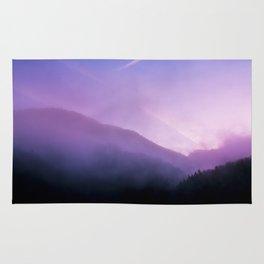 Morning Fog - Landscape Photography Rug