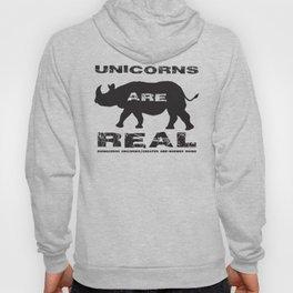 Unicorns Are Real Hoody