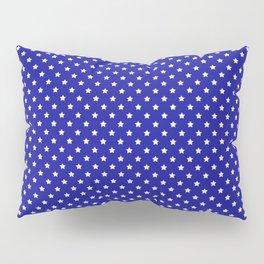 Blue and White Stars Pillow Sham