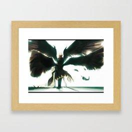 Wings of Despair Framed Art Print