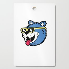 Cool Bear (portrait) Cutting Board