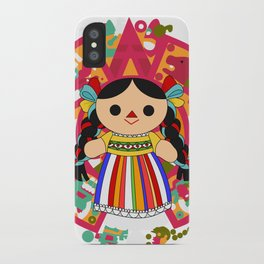 Maria 2 (Mexican Doll) iPhone Case