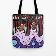 OBSERVATION TIME at the MUTANT HOLDING TANK FACILITY Tote Bag