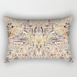 Ancient Structure Rectangular Pillow