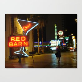 Las Vegas Neon Sign Canvas Print