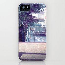Beautiful Cartoon Traffic Road Scenery Ultra High Definition iPhone Case