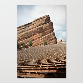 Red Rock Amphitheater  Canvas Print