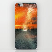 oakland iPhone & iPod Skins featuring Oakland Hills by manfreckles