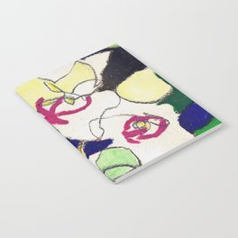 Orchids in Fuchsia Notebook