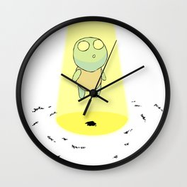 Paul Bloomberg Wall Clock