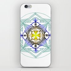 Egypt Zentangle iPhone & iPod Skin