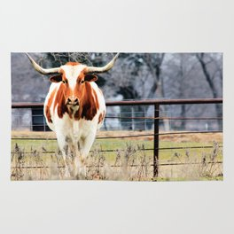 Texas Longhorn Morning Rug