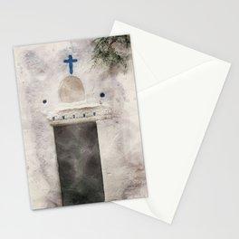 Church door in Kos Greece Stationery Cards