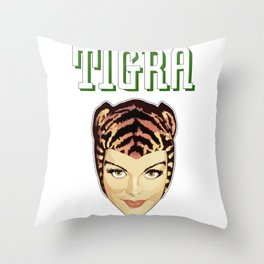 TIGRA Throw Pillow