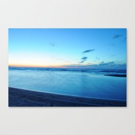 glass-like waters Canvas Print
