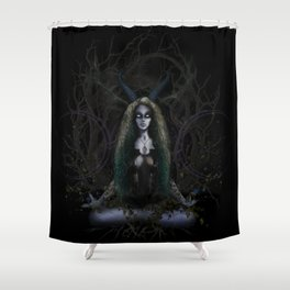 Earth Witch - Elements Collection Shower Curtain