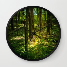 Finding the Light in the Darkness Wall Clock