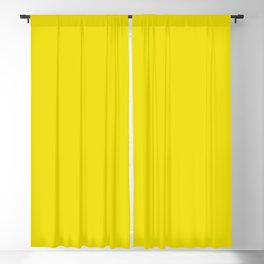 Acidic Green Sheen Current Fashion Color Trends Blackout Curtain