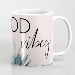 Good Vibes Palm Coffee Mug