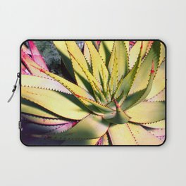 Cactus in neon colour pop photograhy no.9 Laptop Sleeve