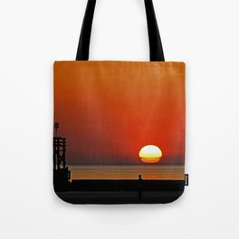 Another place Sunset Tote Bag
