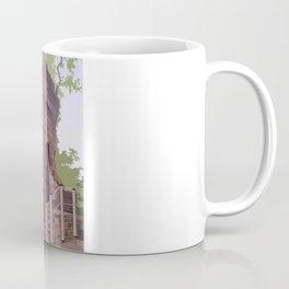 Retro Style Travel Poster - Chester - Bonewaldesthorne's Tower Coffee Mug