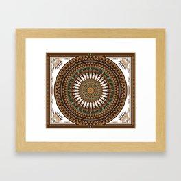Pow Wow (Wacipi) Framed Art Print